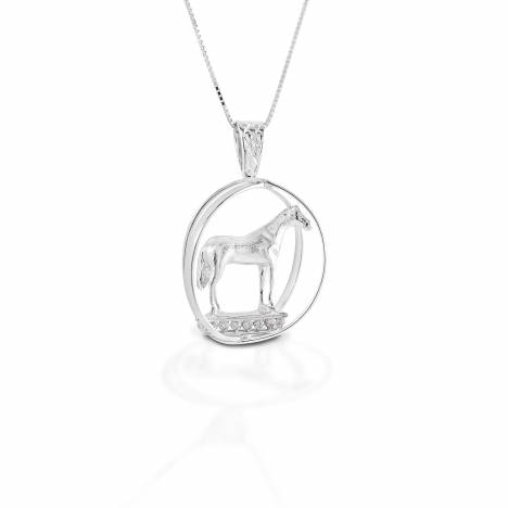 Kelly Herd Large World Trophy Necklace - Sterling Silver