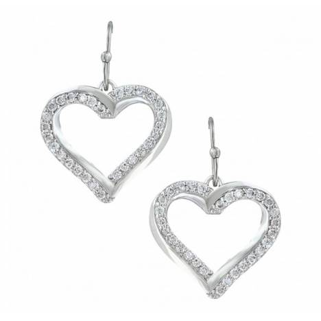 Montana Silversmiths Bright Hearts Entwined Earrings