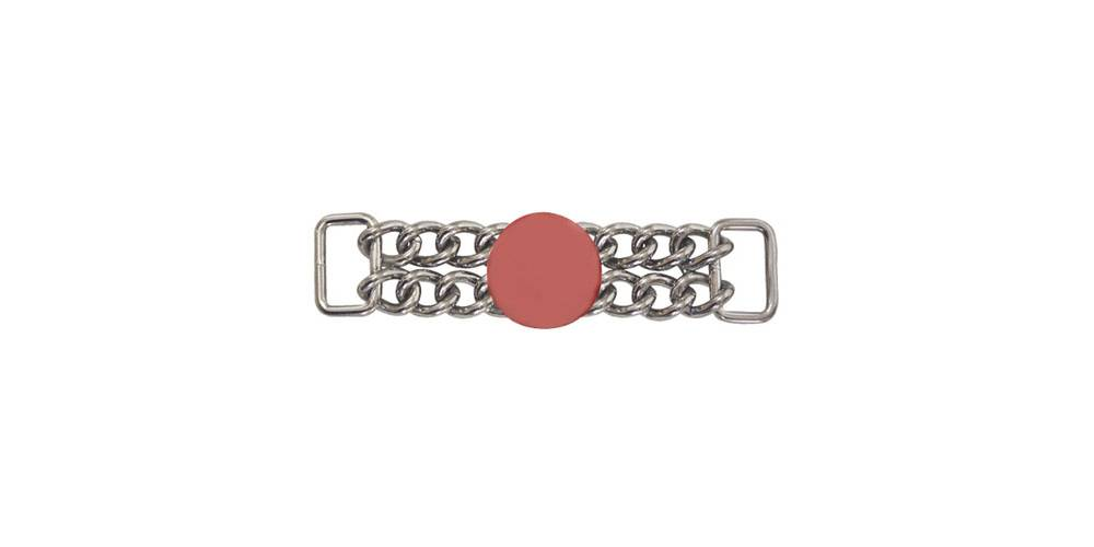 Action Double Chain And Ball Curb Chain Horseloverz