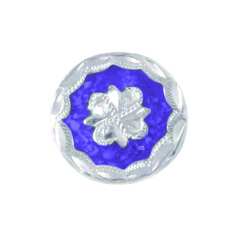 Action Colored Floral Concho - Chicago Screw