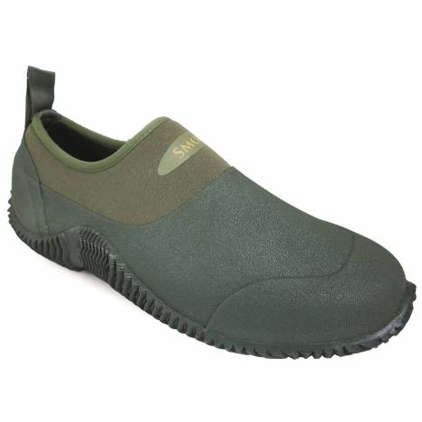"Smoky Mountain Mens 3"" Amphibian Slip On Boots - Green"