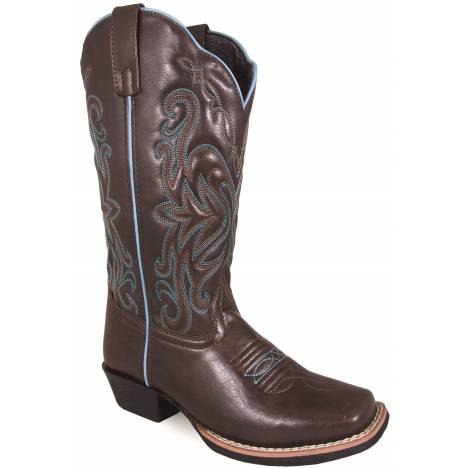 Smoky Mountain Ladies Somerton Square Toe Boots - Brown