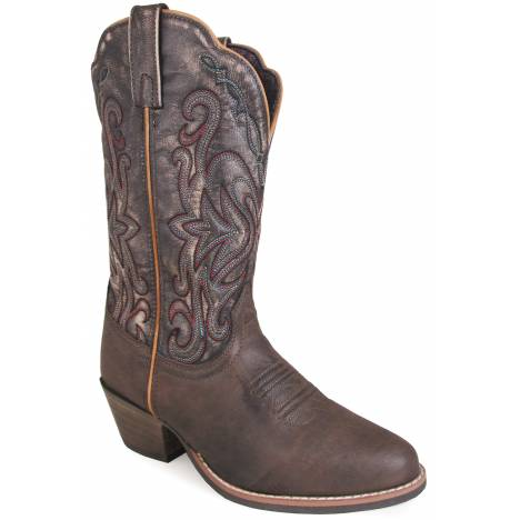 Smoky Mountain Ladies Fusion 1 Western Boots - Brown/Vintage Black