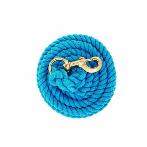 Weaver Solid Color Cotton Lead Rope with Brass Snap