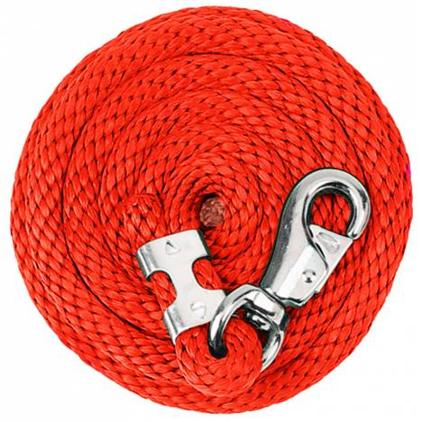 Weaver Poly Lead Rope with Nickel Plated Bull Snap