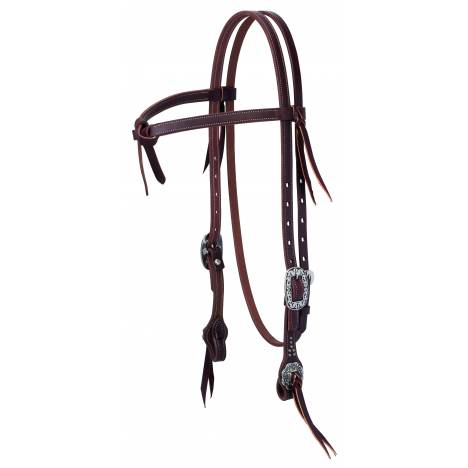 Weaver Working Tack Futurity Knot Browband Headstall