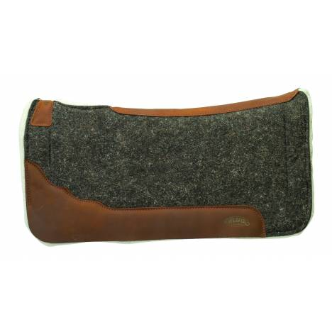 Weaver Impact-Absorbing EVA Sport Foam 100% Wool/Merino Wool Fleece Saddle Pad