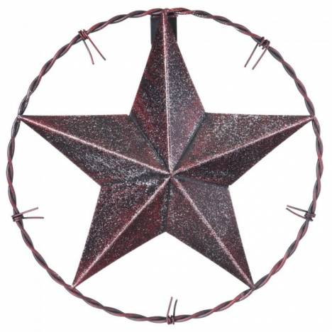 Tough-1 Barbwire Star With Glitter Finish