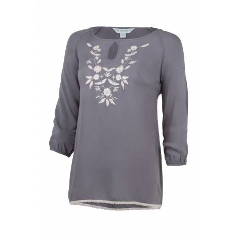 Noble Outfitters Ladies Jolene Peasant Top