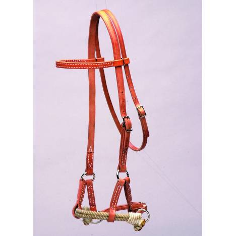 Colorado Saddlery Double Rope Sidepull