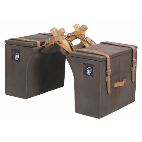 Colorado Saddlery Hard Side Panniers With Web Straps