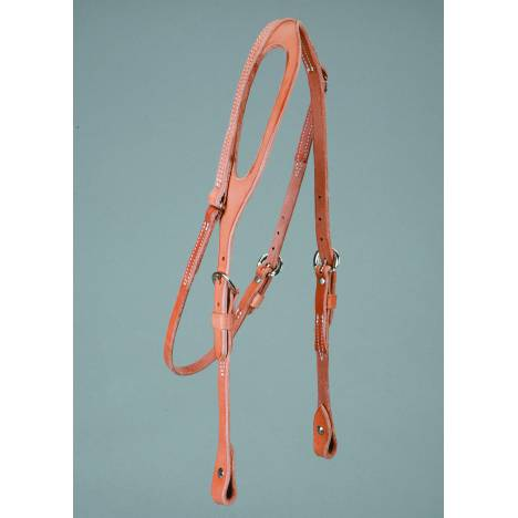 Colorado Saddlery Harness One Ear Headstall - Chicago Screws