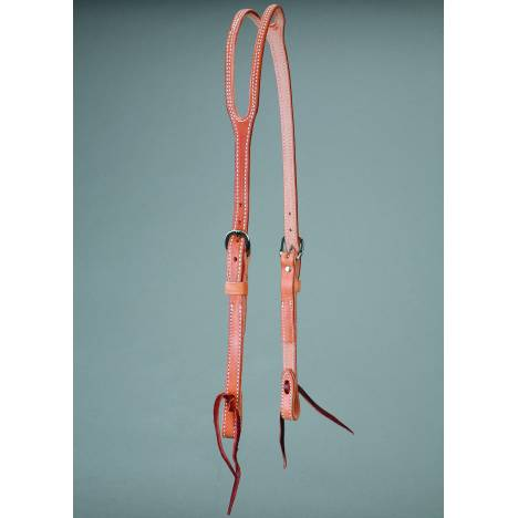 Colorado Saddlery Heavy Single Ply Slip Ear Headstall