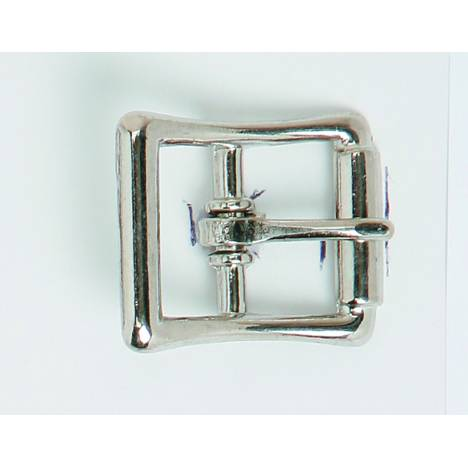 Colorado Saddlery Keeper Buckle With Imitation Roller