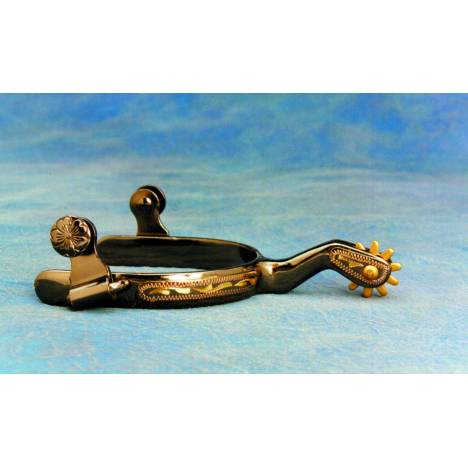 Colorado Saddlery Lady Brass Roper Spurs