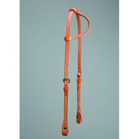 Colorado Saddlery Skirting Sliding One Ear Headstall