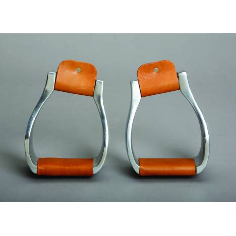 Colorado Saddlery Slanted Top Roper Stirrups