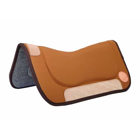 Colorado Saddlery Wool Contour Western Saddle Pad