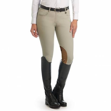 Ovation Ladies Aqua-X Clarino Knee Patch Breeches