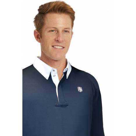 Romfh Mens Long Sleeve Polo