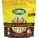 Cadet Gourmet Rawhide & Chicken Twist Sticks - 50 Pack