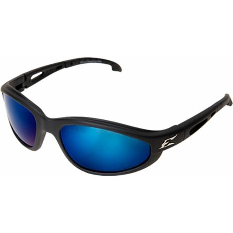 Edge Eyewear Dakura Safety Glasses - Aqua Blue Polarized Lens