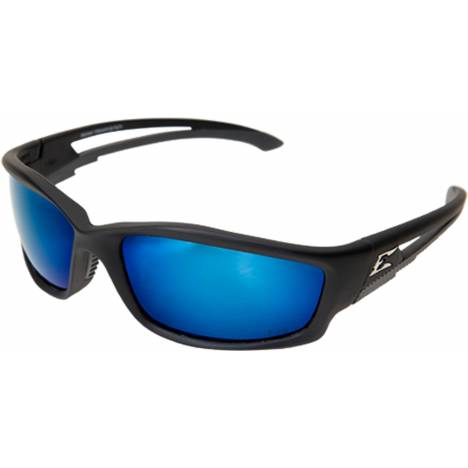 Edge Eyewear Kazbek Safety Glasses - Aqua Blue Polarized Lens