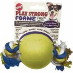 Ethical Dog Play Strong Foamz Ball With Rope