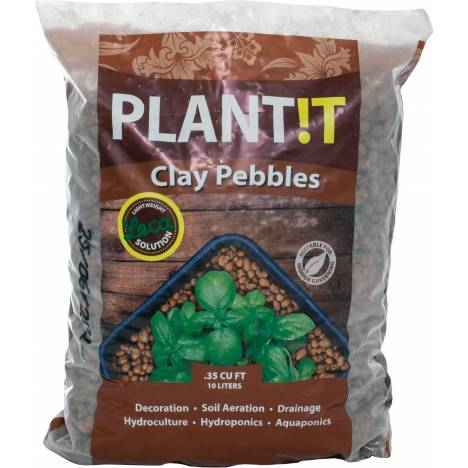 Hyrdrofarm Plant It Clay Pebbles