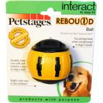 Petstages Rebound Bounce Back Ball Interactive Dog Toy