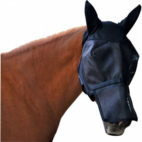 Ultrashield Fly Mask With Removable Nose And Ears