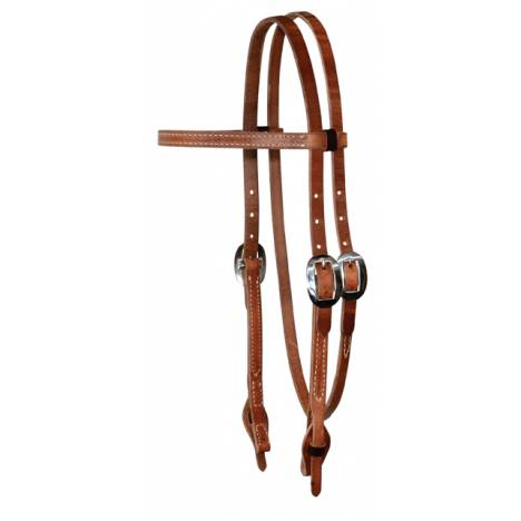 Reinsman Hermann Oak Harness Training Browband Headstall