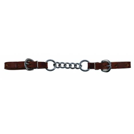"""Reinsman 1/2"""" Rosewood Harness 3 Link Curb Chain"""