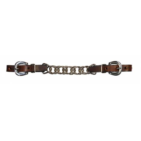 Reinsman Chocolate Flat Chain Curb Chain