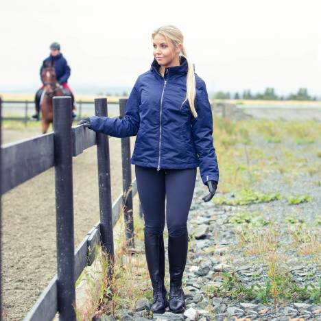 Horze Grand Prix Ladies Silicone Knee Patch Breeches