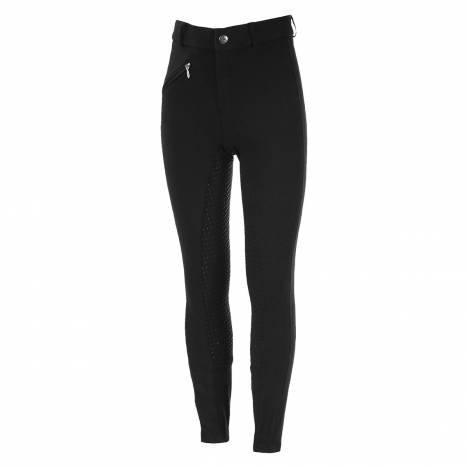 Horze Girls Active Silicone Grip Full Seat Breeches