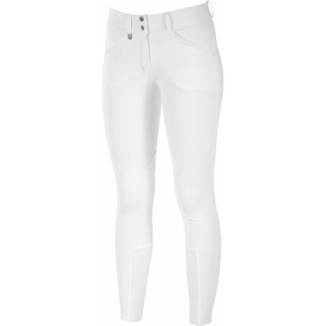 Horze Grand Prix Ladies Leather Knee Patch Breeches