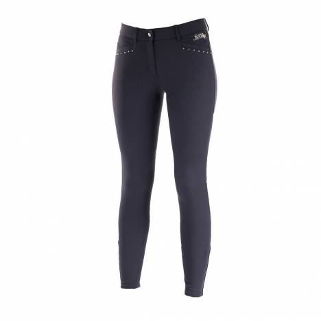 B Vertigo Olivia Ladies Silicone Knee Patch Breeches