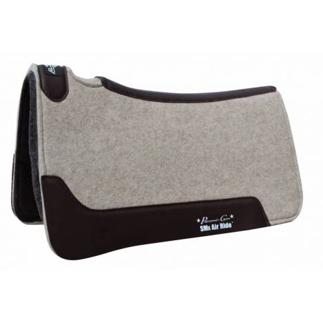 Professionals Choice Close Contact Cowboy Felt Deluxe Air Ride Roper Pad