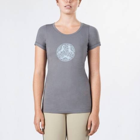 Irideon Ladies Celtic Horse Circle Tee