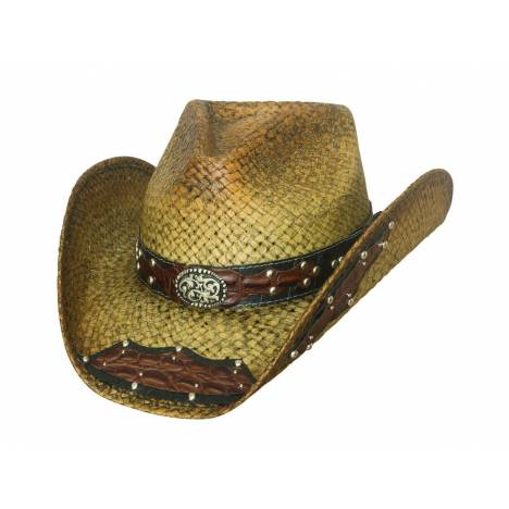 Bullhide Run A Muck Leading The Charge Straw Cowboy Hat