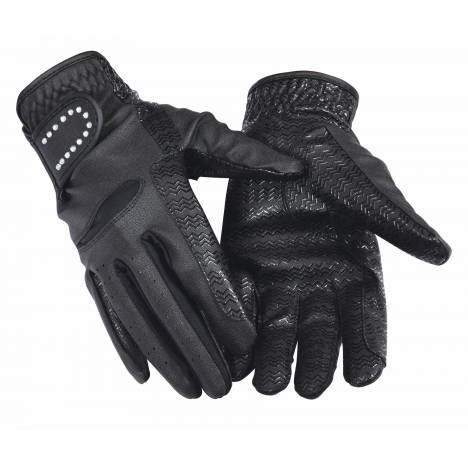 Equine Couture Ladies Crystal Gloves