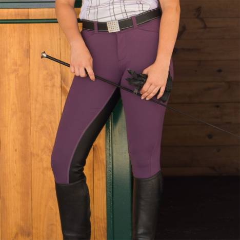 FITS Ladies Free Flex Full Seat Zip Front Breech