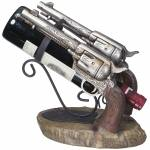Double Pistol Wine Holder