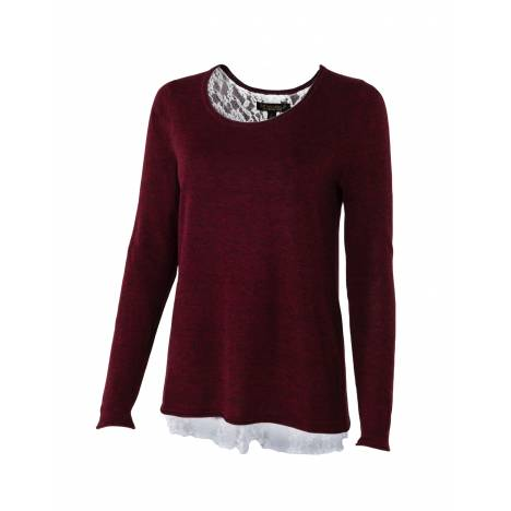 Noble Outfitters Tory Lace Sweater