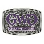 Montana Silversmiths Girls With Guns Royal Filigree Attitude Buckle