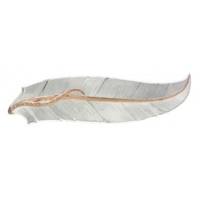 Montana Silversmiths Rose Gold Accent Feather Hair Clip