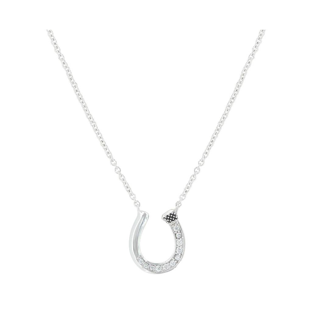 Montana Silversmiths A Single Path Horseshoe Necklace
