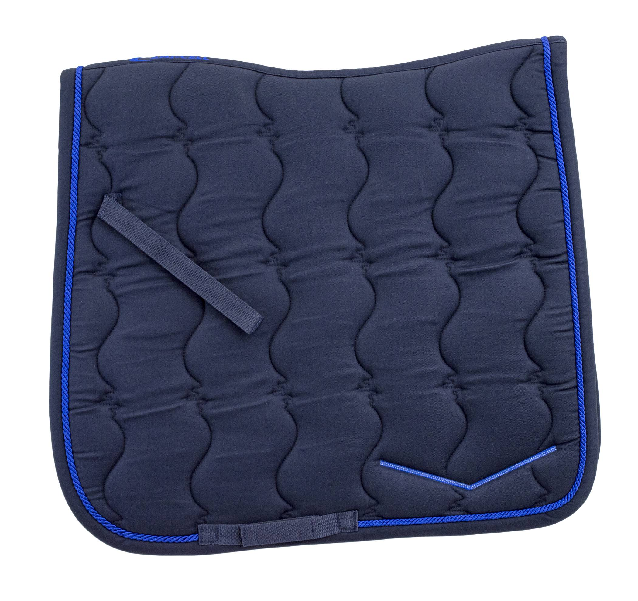 Lami Cell Crysal Black Dressage Saddle Pad Full Horse Size Tack Saddles Accessories