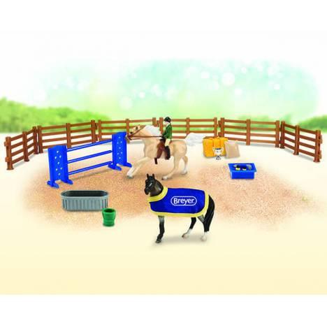 Breyer Stablemates English Play Set